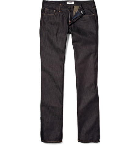 Acne Mic Rigid Straight Jeans