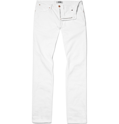 Acne Max Straight Leg Denim Jeans
