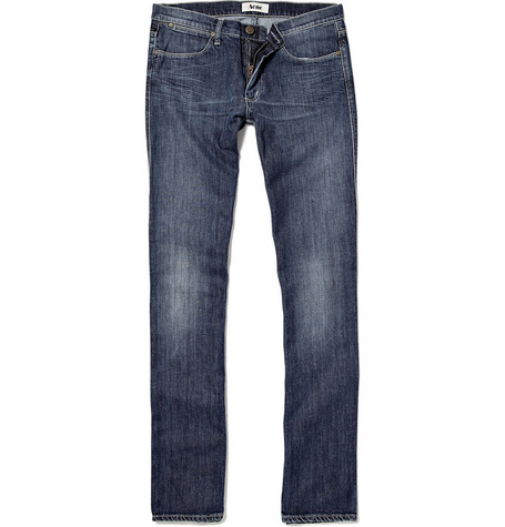 Acne Max Pure Slim-Fit Jeans