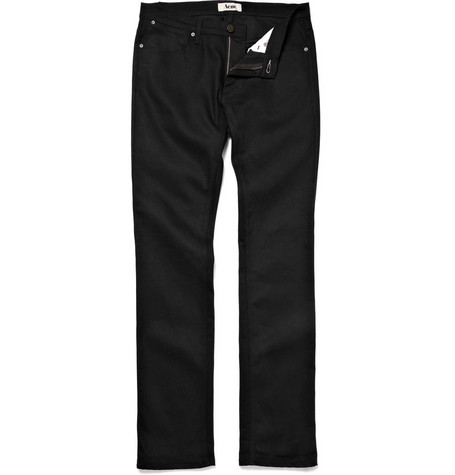 Acne Max Cash Slim Jeans