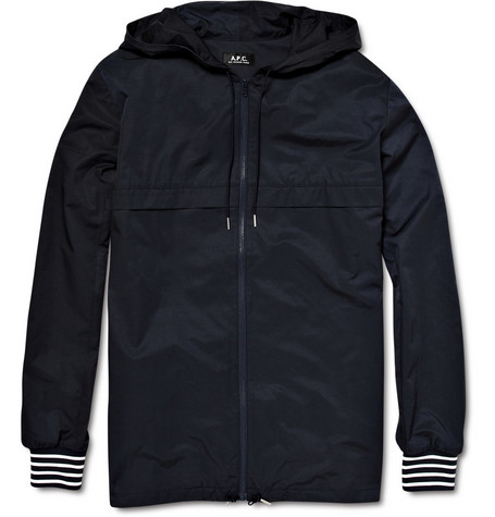 A.P.C. Hooded Windbreaker