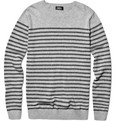 A.P.C. Crew Neck Striped Sweater