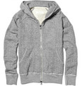 Rag & bone Wright Cotton-Blend Hoodie
