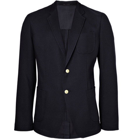 Alexander McQueen Patch Pocket Single-Breasted Blazer