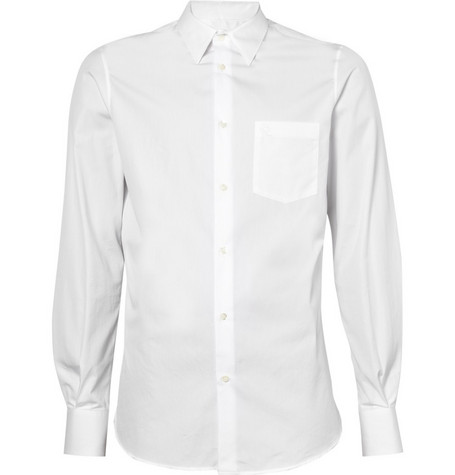 Alexander McQueen Cotton Shirt with Chest Pocket