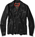 Alexander McQueen Kangaroo Leather Biker Jacket