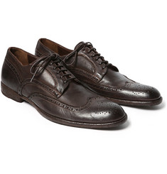 Alexander McQueen Leather Brogues