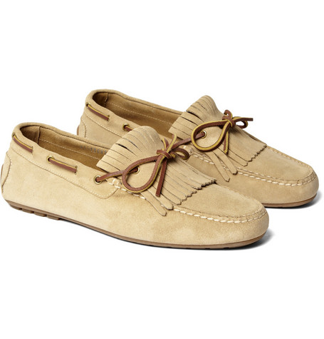 Ralph Lauren Shoes & Accessories Suede Tasselled Loafers