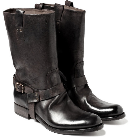Ralph Lauren Shoes & Accessories Leather Biker Boots