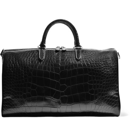 Ralph Lauren Shoes & Accessories Boston Alligator Weekend Bag