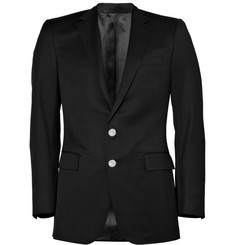 Ralph Lauren Black Label Anthony Black Wool Gabardine Blazer