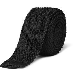 Ralph Lauren Black Label Crochet Knit Tie