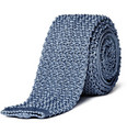 Ralph Lauren Black Label Blue crochet tie