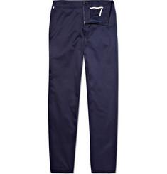 Richard James Flat Front Cotton Trousers
