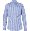 Richard James Striped Blue Shirt