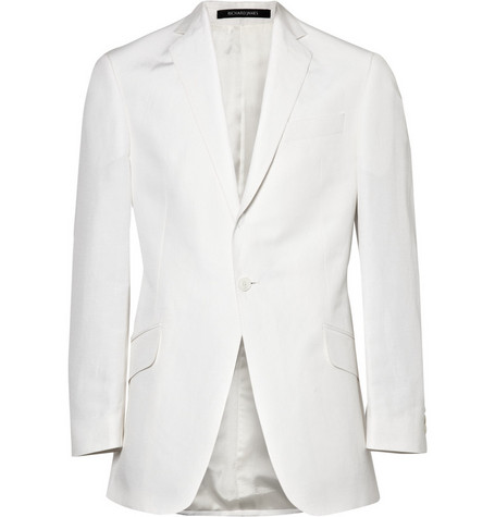 Richard James Silk and Linen-blend Suit Jacket