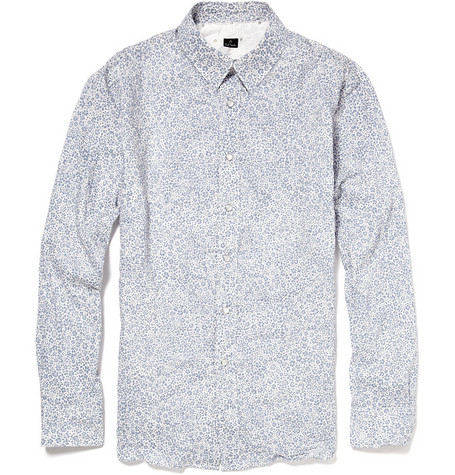 PS by Paul Smith Flower Print Shirt