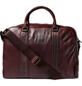 PS by Paul Smith Dip Dyed Leather Weekend Bag