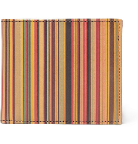 Paul Smith Shoes & Accessories Striped Leather Wallet