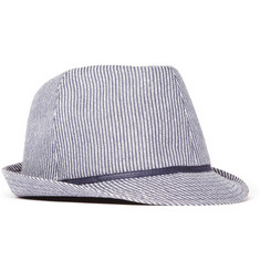 PS by Paul Smith Striped Seersucker Trilby