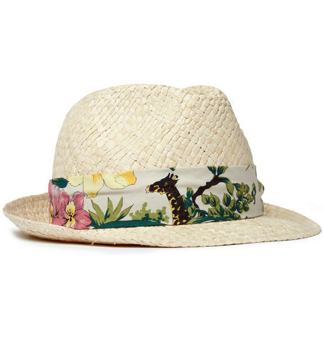 Paul Smith Shoes & Accessories Straw Hat