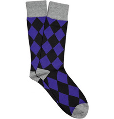 PS by Paul Smith Harlequin Socks