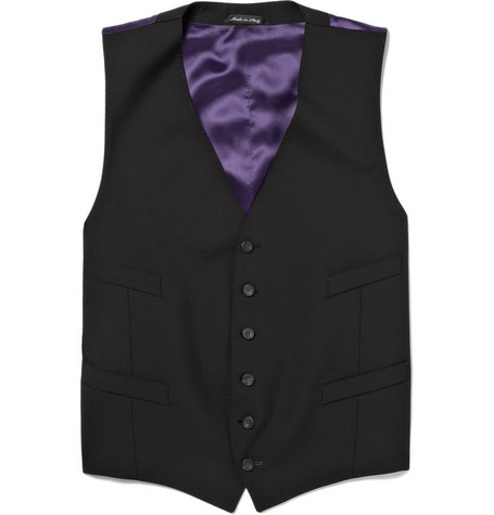 Paul Smith London Wool-Blend Suit Waistcoat