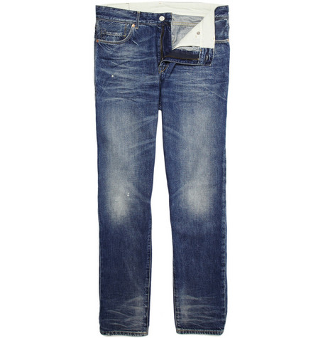 Levi's Made & Crafted Worn Straight-Leg Jeans