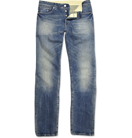 Levi's Made & Crafted Washed Straight-Leg Jeans