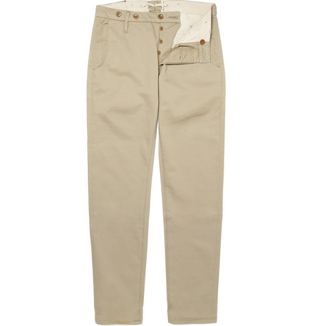 Levi's Made & Crafted Cinch-Back Cotton Chinos