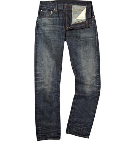 Levi's Vintage Clothing1967 505 Dark Wash Worn Jeans