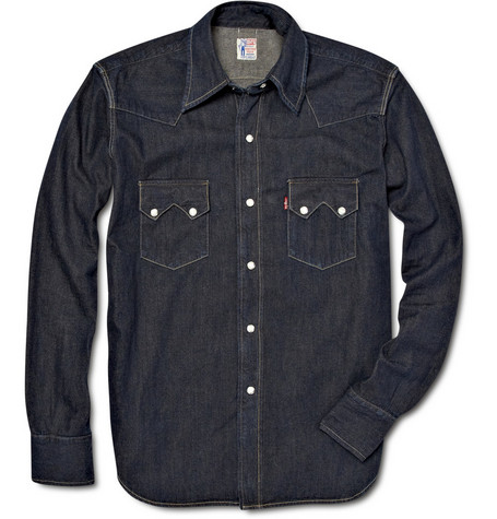 Levi's Vintage Clothing Sawtooth Denim Shirt