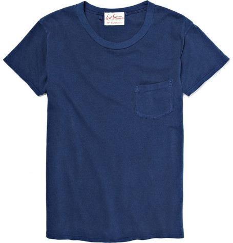 Levi's Vintage Clothing Blue T-Shirt with Chest Pocket