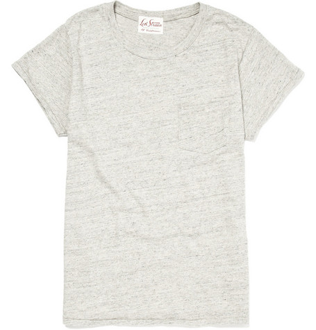 Levi's Vintage Clothing Grey T-Shirt with Chest Pocket