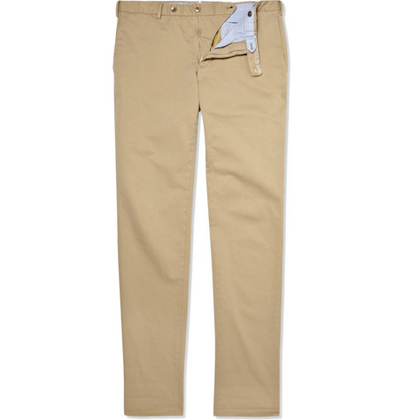 Slowear Incotex Lightweight Slim-Fit Cotton Chinos