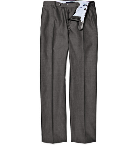 Slowear Wool Blend Trousers