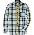 Slowear - Cotton Blend Plaid Shirt