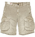 Incotex - Incotex Cotton and Linen-Blend Cargo shorts