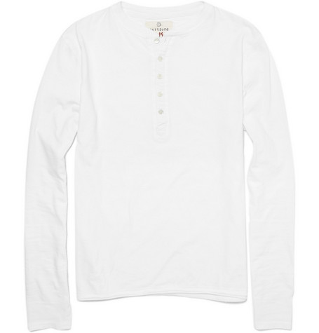 Hartford Cotton Long-Sleeved T-Shirt