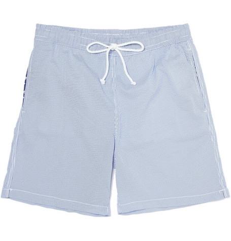 Hartford Seersucker Swim Shorts