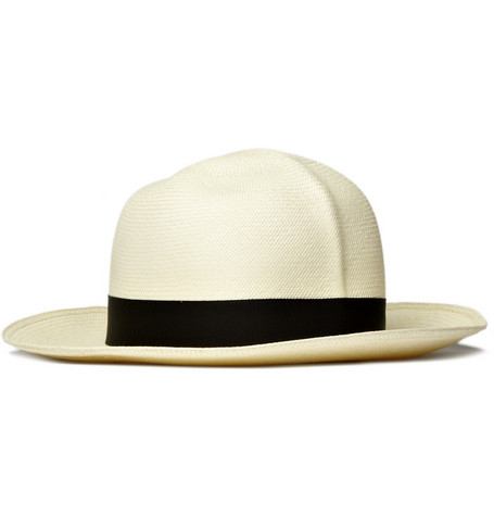 Alfred Dunhill Roll-Up Panama Hat