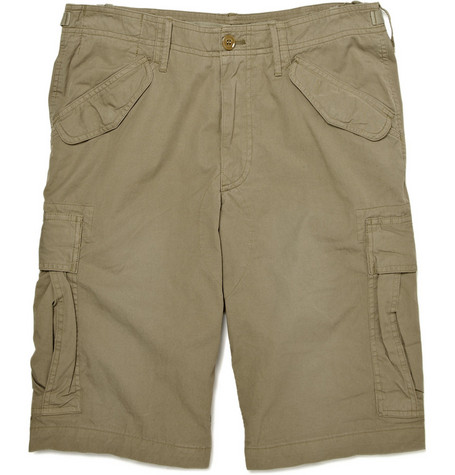 Burberry Brit Cotton Cargo Shorts