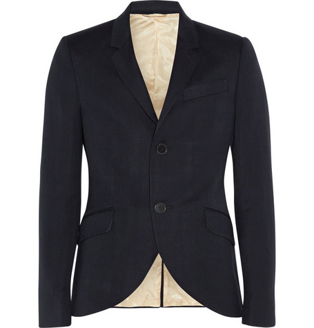 Aubin & Wills Axminister Wool and Linen-Blend Blazer