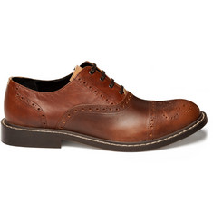 B Store Heavyweight Leather Brogues