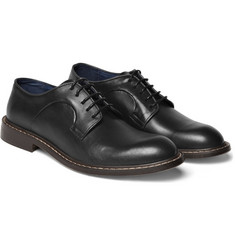 B Store Chunky Leather Derby Shoes