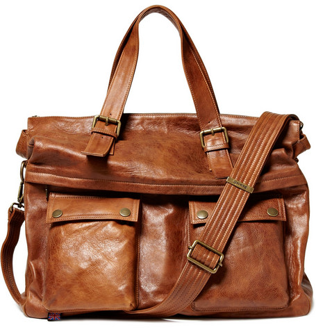 Belstaff Pelvin Leather Holdall