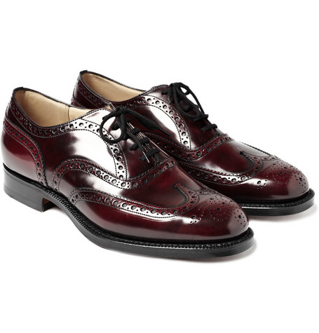 Church's Patent Burwood Wingtip Brogues