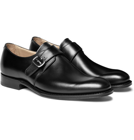Church's Leather Bampton Monk-Strap Shoes