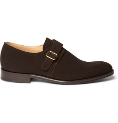 Church's Suede Bampton Monk-Strap Shoes
