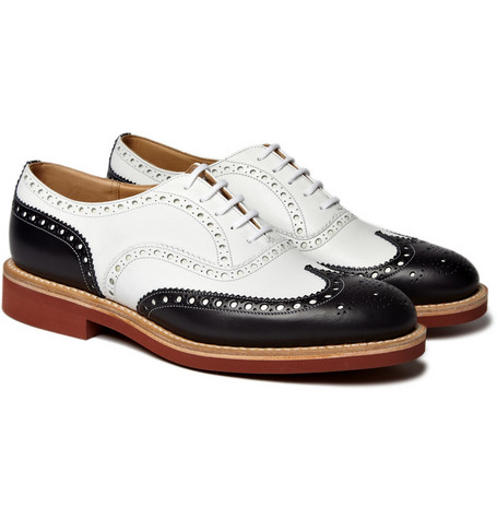 Church's Bi-Colour Leather Downtown Brogues